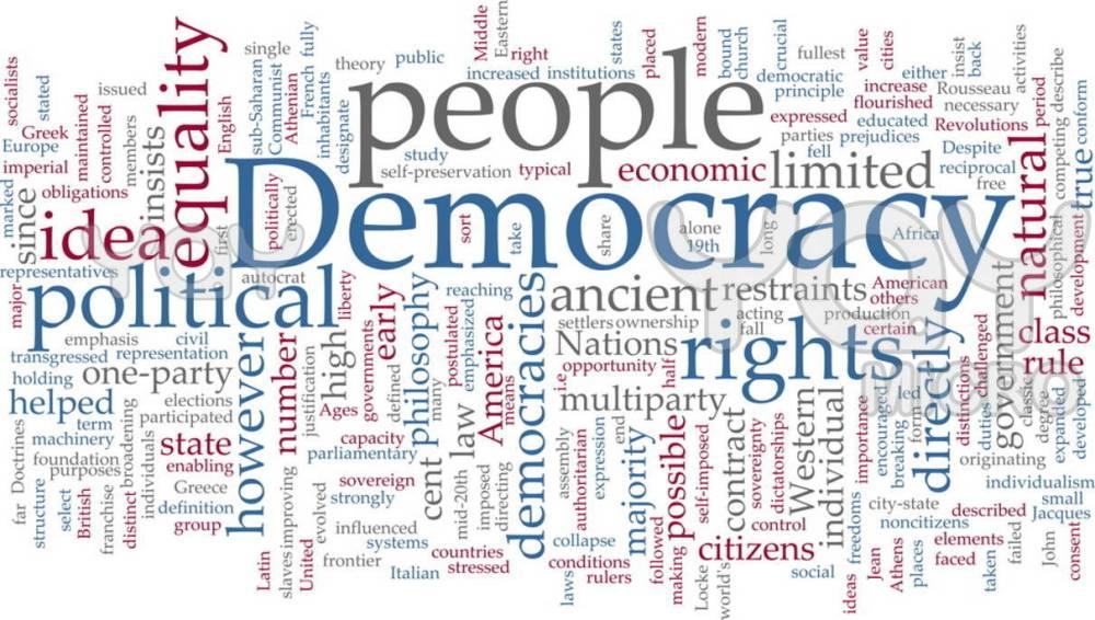 Democracy: The way ahead