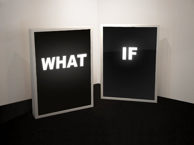 What if…….. (1/2)