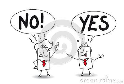 Office disagreement