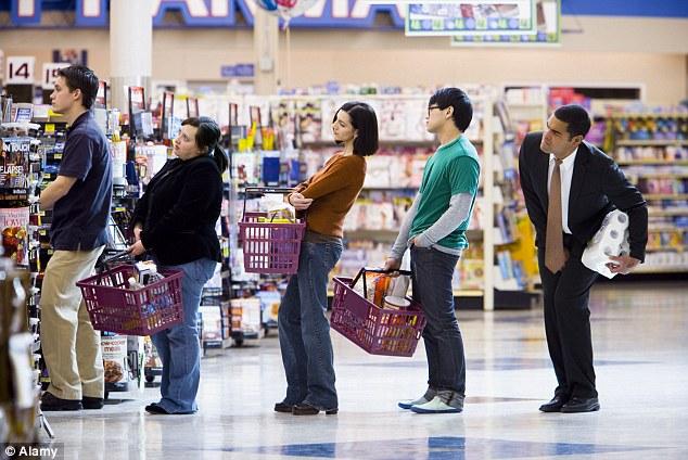 Supermarket queue