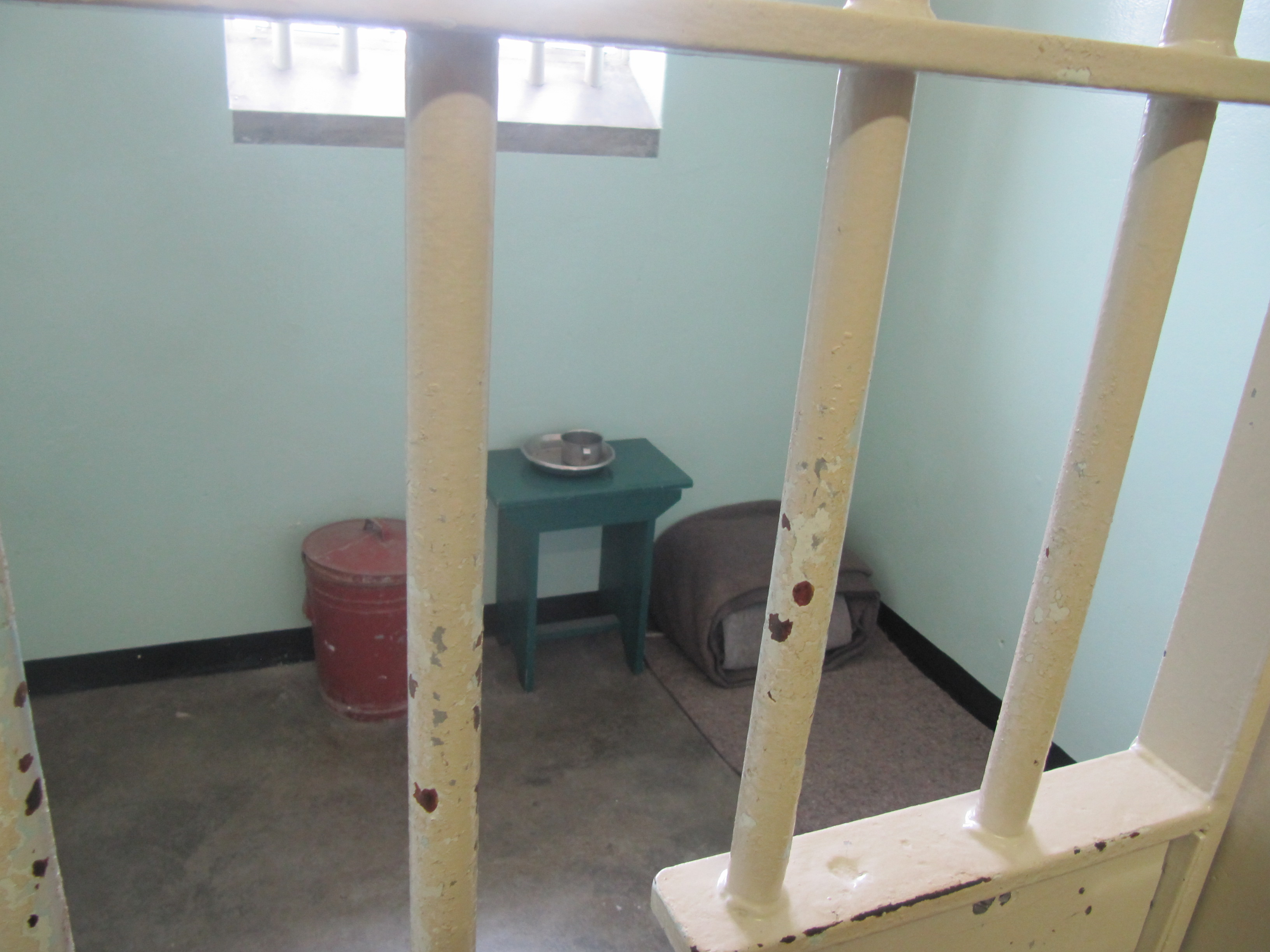 The cell which was home to Mandela