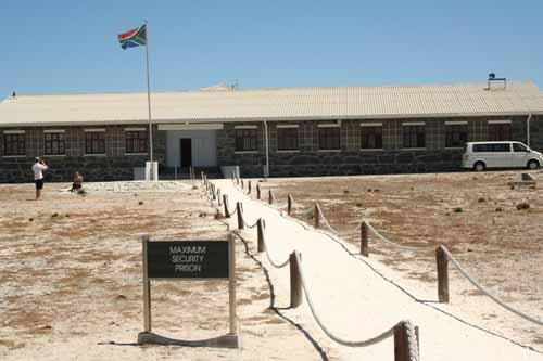 Maximum security zone of the apartheid era
