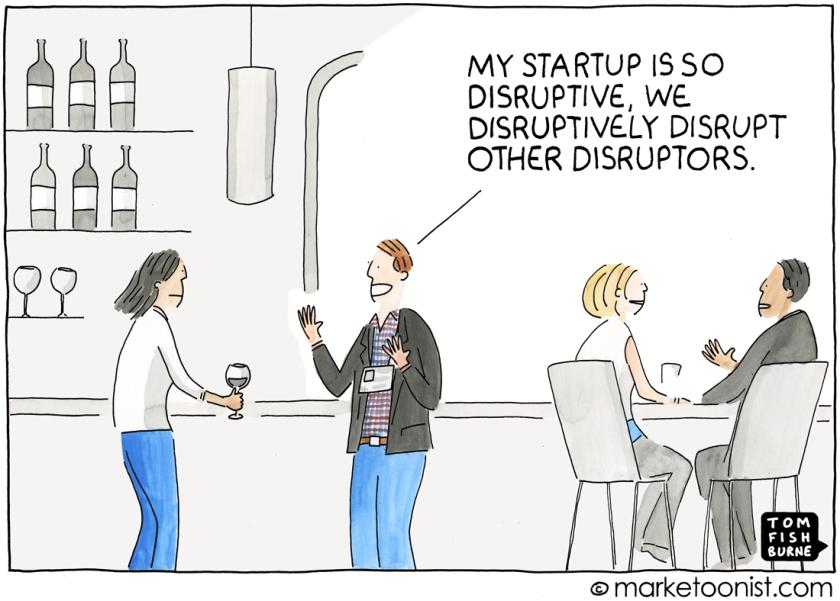 disruptive humour